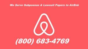 air bnb subpoena